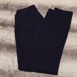 JCrew Frankie Navy Pants Size 00